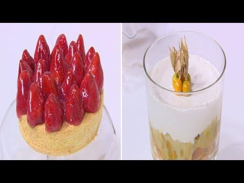 كيكة الفراولة الاسفنجي - حلوي الحرنكش والكريمة : زي السكر حلقة كاملة