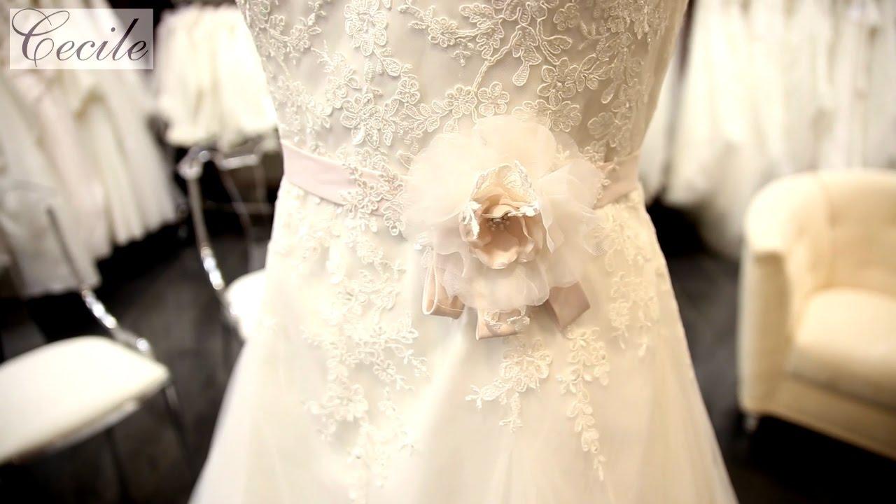 Gluckliche Braute Bis Grosse 64 Cecile Plus Size Shop Youtube