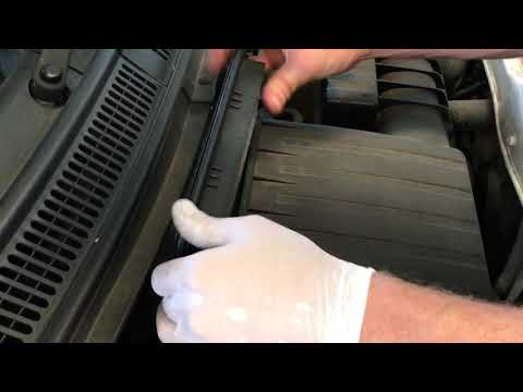 How to change a Suzuki Swift Engine Air Filter