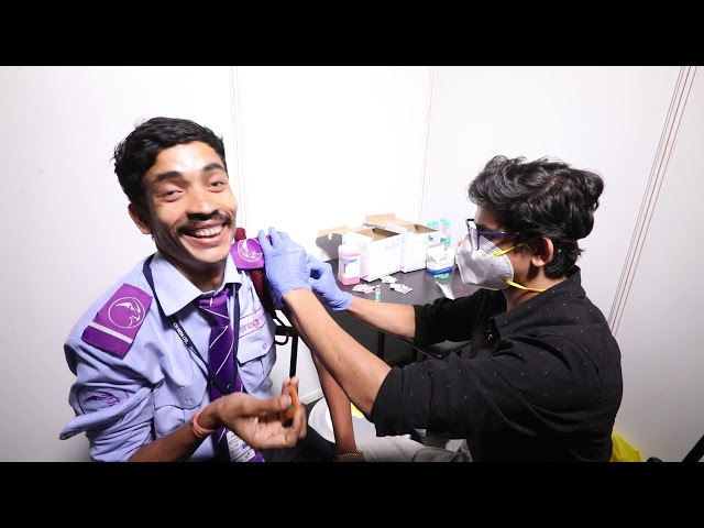 ITC Infotech Vaccination Drive Video Diaries – Episode 3
