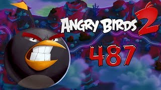 Angry Birds 2 Cobalt Plateaus Pig Bay 487 LEVEL Walkthrough