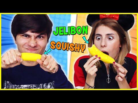Dev Jelibon vs Squishy Kutudan Ne Çıkacak Challenge Eğlenceli Çocuk Videosu Dila Kent