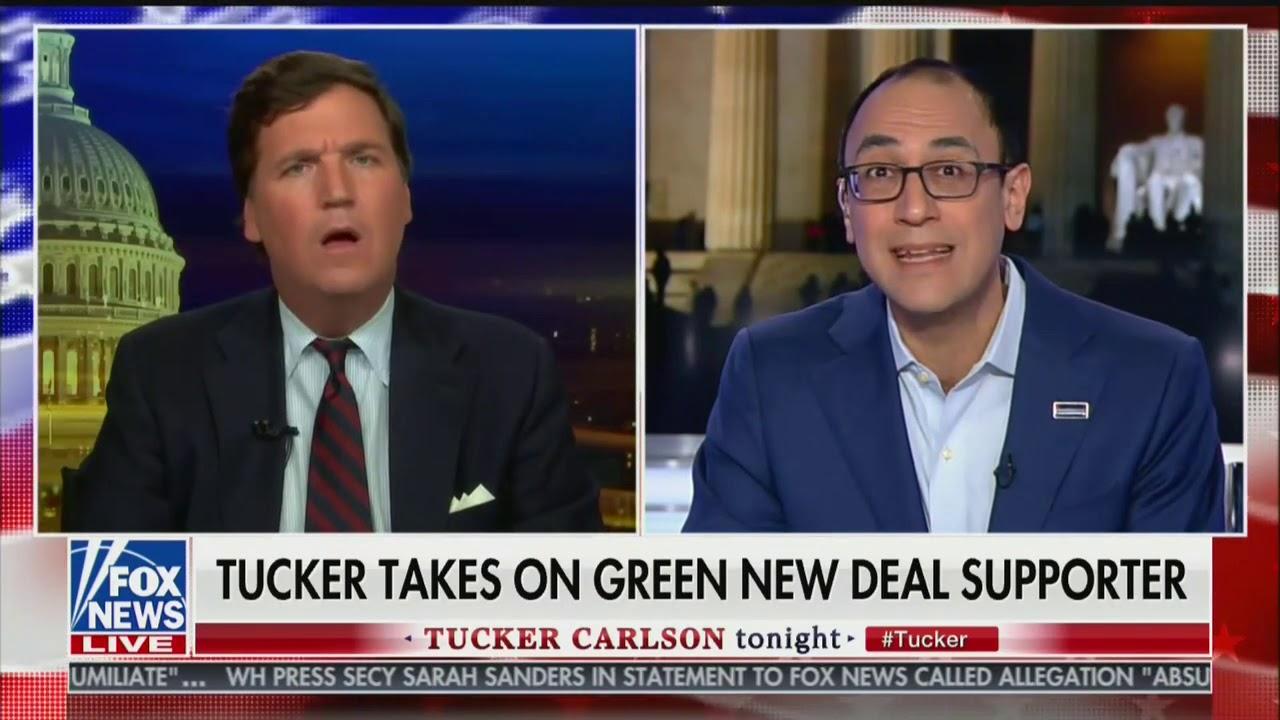 Tucker Carlson: Bernie Sanders Should Walk From Vermont to