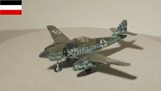 ME 262 - Deutsche Luftwaffe - 1:144 Modell