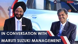 In Conversation With CV Raman and RS Kalsi, Maruti Suzuki India | NDTV carandbike
