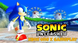 Sonic Unleashed - Xbox One X Backwards Compatible Gameplay
