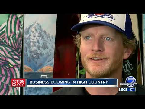 Business booming in Colorado's high country