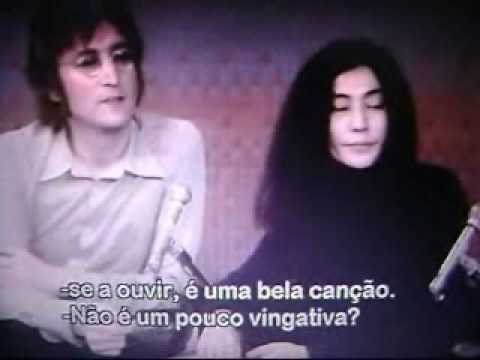 John Lennon answers about Paul McCartney (Legendado PT-BR)