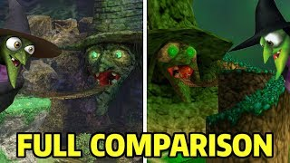 Spiral Mountain Full Comparison (N64 vs. Switch) - Super Smash Bros. Ultimate
