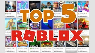 THE BEST ROBLOX GAMES ? TOP 5