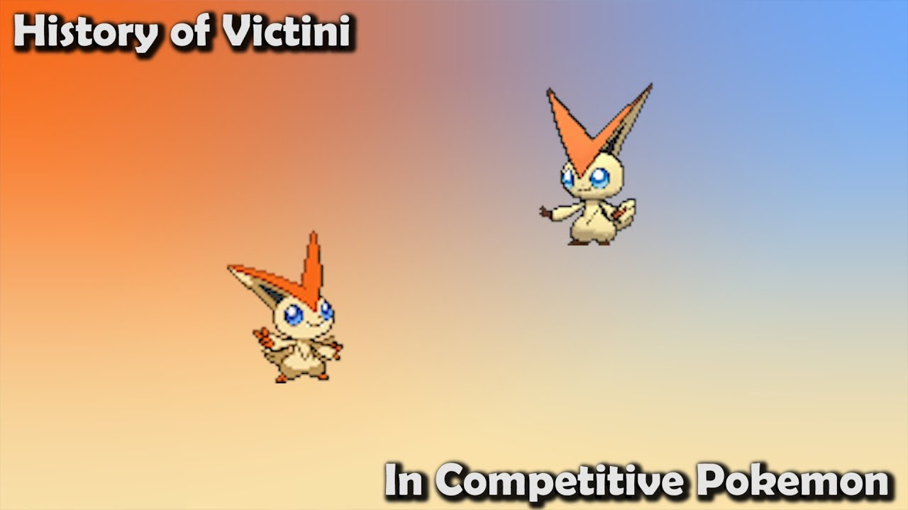 How Good Was Victini Actually History Of Victini In Competitive Pokemon Gens 5 7 Youtube