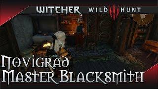 The Witcher 3: Wild Hunt Master Blacksmith Location