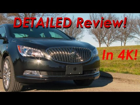 2015 Buick LaCrosse DETAILED Review and Road Test – in 4k!