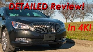 2015 Buick LaCrosse DETAILED Review and Road Test - in 4k!