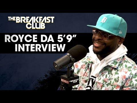 "Royce da 5'9"" On New Music, Mental Health, Joe Budden + More"