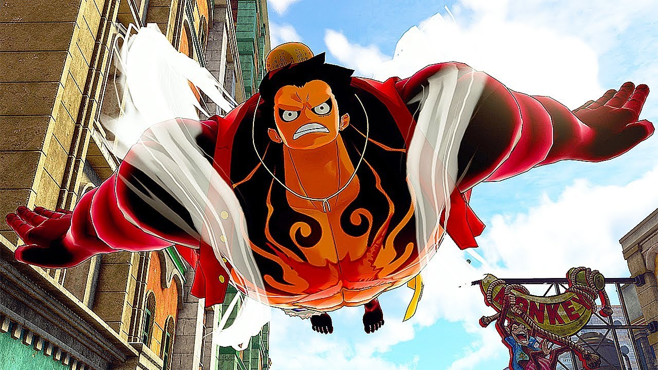 One Piece World Seeker NEW Gameplay Trailer (Luffy Fourth Gear)