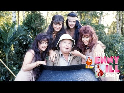 Benny Hill - Jungle Antics w/Closing Chase (1989)