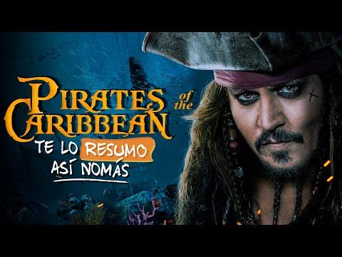 Piratas del Caribe (La Saga) | Te Lo Resumo Así Nomás#140