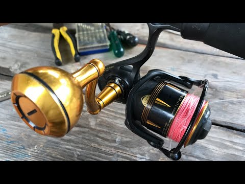 3 Years NO SERVICE! Opening A Penn Slammer 3 Fishing Reel LIVE