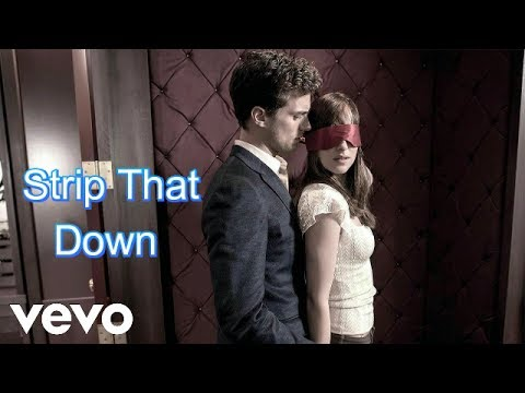 Fifty Shades Darker - Strip That Down (Music Video)