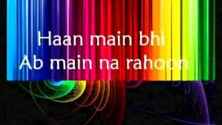 han har ghadi thank you full song lyrics