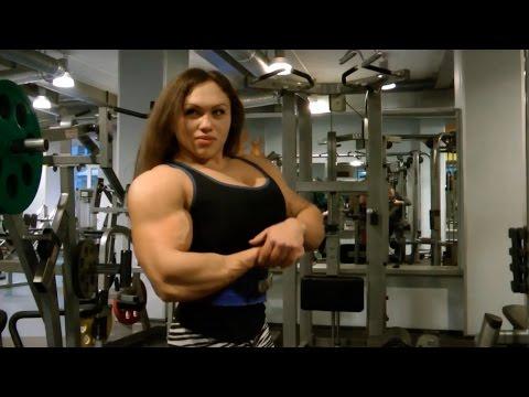 Видео Наталья Трухина на пути к Мисс Олимпия 2015!