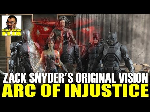 ARC OF INJUSTICE – ZACK SNYDER'S ORIGINAL VISION