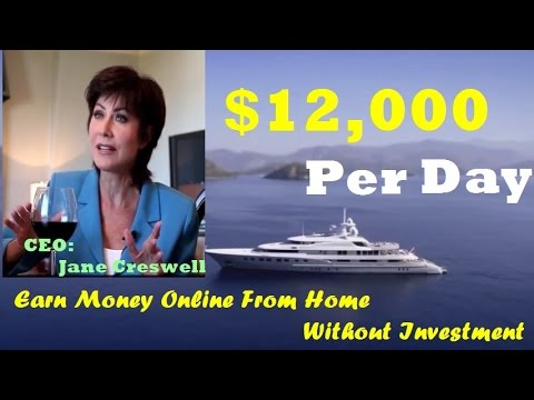 How To Earn Money Online From Home Without Investment - Make Income $12,000 The First Day