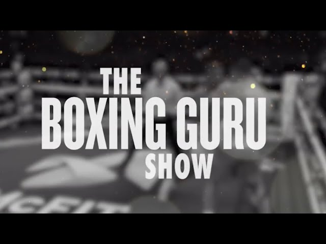 THE BOXING GURU SHOW | EPISODE #1 | BOXING REVIEW, CRAWFORD VS KHAN, LOMACHENKO, SHIELDS
