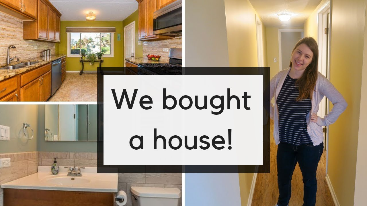 WE BOUGHT A HOUSE!   Empty House Tour