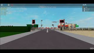 *Hangman & Misuse* Mill Bypass Level Crossing | Roblox