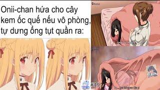 Ảnh Chế Anime #39 Oni-chan hứa cho que Kem - Meme Baka