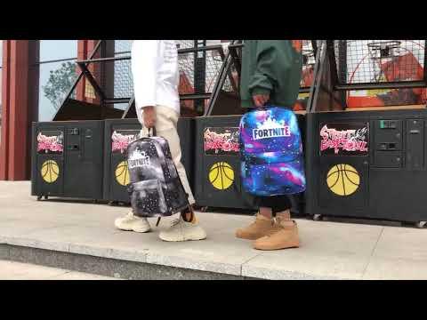 Battle Royale Fortnite Backpack Luminous School Bag Travel Shoulder Bag Knapsack