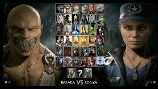 Mortal Kombat 11 Full Character Roster With DLC ( Prediction/Wishlist)