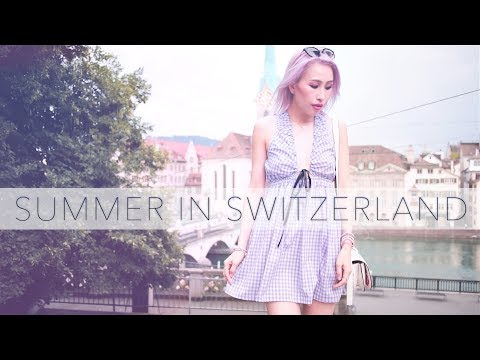 Zurich Switzerland Style Diary | Summer Lookbook | Summer in Zurich and Lucerne | Summer Style