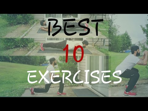Top 10 Body Weight Exercises