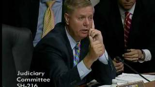 Senator Graham Questions Supreme Court Nominee Elena Kagan