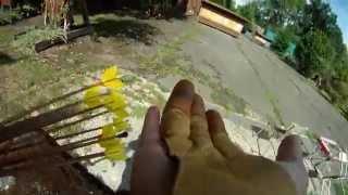 Avatar archery experiment - with KTB, blunts, net, noisy target