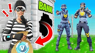 COPS & ROBBERS Game Mode in Fortnite