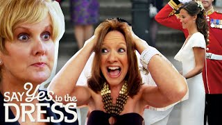 Bride Wants To Look Like Pippa Middleton In The Royal Wedding | Say Yes To The Dress Atlanta