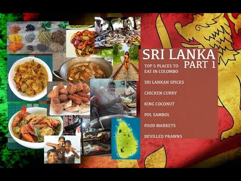 Sri Lankan Cooking - Part 1 - Sri Lanka Food - Sri Lankan Food Documentary - Sri Lanka Street Food