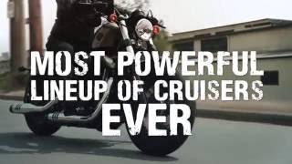 Der Virtual Ride, in 24 Stunden rund um die Welt auf den Dark Custom und den Bikes der S Serie