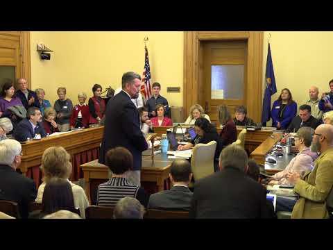 Medicaid Expansion Hearing 02-14-2018 Kansas Senate Committee