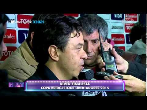 Entrevista Marcelo Gallardo | Guarani 1 - 1 River Plate (1-3) | RIVER FINALISTA LIBERTADORES