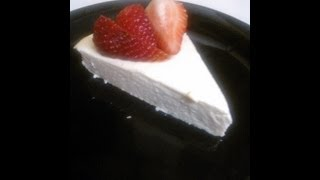 Guilt Free!! High Protein/ Low Carb Crustless Cheesecake