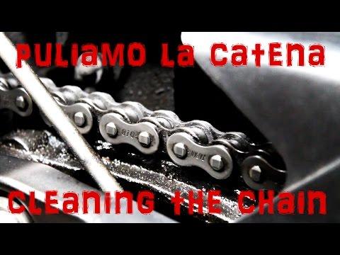 PULIRE LA CATENA MOTO | CLEAN THE CHAIN | TUTORIAL #2