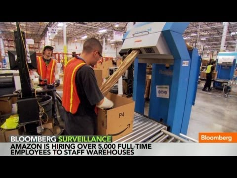 Amazon Goes on Hiring Spree as Labor Market Tightens