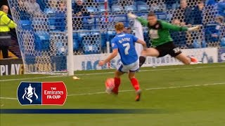Portsmouth 1-0 Accrington - Emirates FA Cup 2015/16 | Goals & Highlights