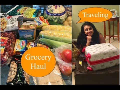 Indian Grocery Haul + Traveling | A Day In My Life | Simple Living Wise Thinking