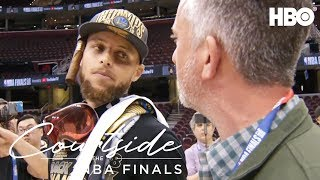 Steph Curry Ranks His Favorite Finals | Courtside at the NBA Finals (2018) | HBO